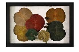 lotus leaves wall art decor monkeypod asia