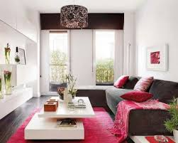 Modern Small Living Room Design Living Room White Chaise Lounges White Chandeliers Gray Sofa