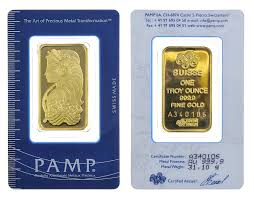 pamp suisse 10 ounce gold minted
