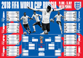 World Cup 2018 Wall Chart The Official England World Cup Wall Chart Is Here Berks