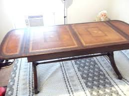 leather top coffee table popular of leather top coffee table have a heritage drop leaf coffee leather top coffee table