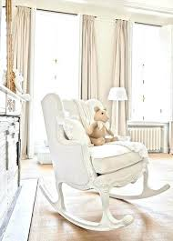 best baby nursery rocking chairs creamy white baby nursery with romantic shabby chic decor rocking chair