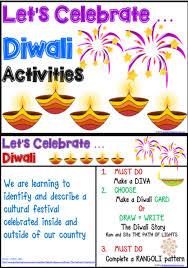 Diwali Activities Management Charts
