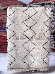 kenza moroccan rug beni ourain berber rug
