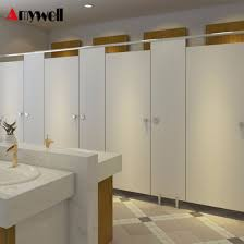 Bathroom Partition Fascinating China Amywell Hot Selling Glossy White Dampproof Changing Room HPL