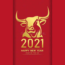 The chinese new year 2021 begins on february 12th and will have the metal ox as an animal, which translates into a moment of construction and consolidating your achievements. Happy Chinese New Year 2021 With Gold Head Ox Zodiac Sign On Red Chinese Culture Sponsored A Chinese New Year Zodiac Happy Chinese New Year Korean New Year