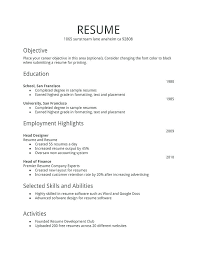 A Basic Resumes Examples Of Basic Resumes Killer Resume Samples Example Of A Basic