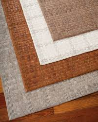 derby woven leather rug 439 x 639