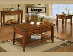 winners only mango occasional table collection