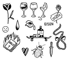 Pιnтereѕт Eғғyjeweтт99 эскизы идеи для татуировок тату