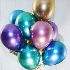 "<b>Popular Glossy Metal Pearl</b> Latex Balloons 10"" Thick Chrome ..."