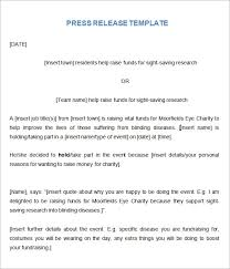 Templates For Press Releases Free 7 Press Release Templates In Word Pdf