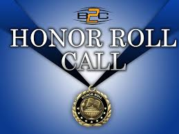 Honor Roll Students Born To Compete