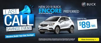 select 2018 buick encore