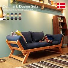 denmark design scandinavian ion sofa nordic house furniture sofa fabric natural wood fabric sofa bed two seat wooden leg recliner sofa 2 persons