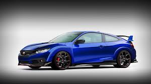 Blue Honda Civic Rs Hatchback 2017 Wallpapers