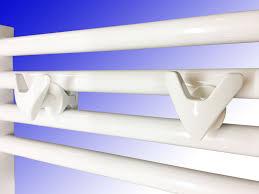 Handtuchhalter Für Badheizkörper Vip Chrom Oder Weiß 2 Stück