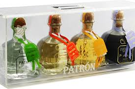 patrón 4 bottle gift set