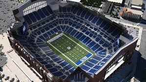 Lucas Oil Stadium Seating Chart For Colts Games Indianapolis Colts Virtual Venue By Iomedia