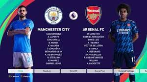 Maybe you would like to learn more about one of these? Pes 2021 Manchester City Vs Arsenal New Kits 2021 22 English Premier League Youtube