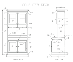 full image for wood computer desk l shaped plans free small