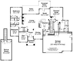 Small Picture Fine House Plans With Large Kitchens Bungalow 1 5 Story Images