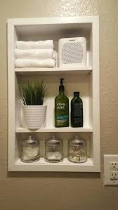 between stud storage awesome recessed shelving time for recess how to create shelf space between stud
