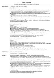 Drafting And Design Resume Examples Mechanical Drafter Resume Samples Velvet Jobs 21