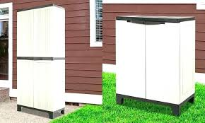 plastic outdoor storage cabinet. Delighful Plastic Plastic Storage Closet Outdoor Cabinet   And Plastic Outdoor Storage Cabinet