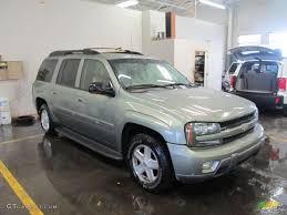 2003 Silver Green Metallic Chevrolet TrailBlazer EXT LT 4x4 ...