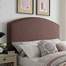 brown upholstered headboard. Exellent Brown Classic Brown Upholstered FullQueen Headboard  Cassie  RC Willey  Furniture Store On S