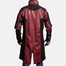 archer leather coat