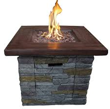 beautiful lp gas fire pit loon peak davey outdoor propane gas fire pit table