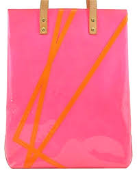 tote in pink wilson leather messenger bags