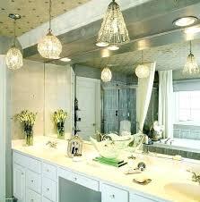 flush mount bathroom lighting bathroom pendant