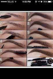 eyebrow brushes kit. eyebrow shaping 101: pluck the perfect eyebrows brushes kit e