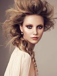 glowy makeup editorial