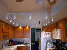 image of small kitchen track lighting
