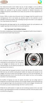 Tpms Tyre Pressure Monitoring System In Een Wegtransport Voertuig