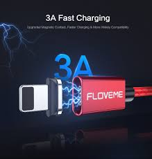 FLOVEME 3A Magnetic <b>Cable Micro USB Type</b> C <b>Cable</b> For iPhone ...