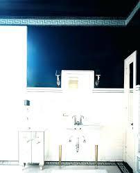 navy blue bathroom dark blue bathroom vanity fabulous navy blue vanity bathroom colors wainscoting sea salt