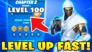 Fortnite Season 4 Level Chart The Fastest Way To Level Up In Fortnite Chapter 2 How To Level Up Get Tier 100 Fast