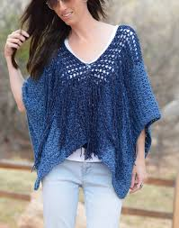 Free Crochet Poncho Patterns Delectable Azul VMesh Easy Crochet Poncho Pattern Mama In A Stitch