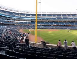 Yankee Stadium Field Level 107 Seat Views Seatgeek
