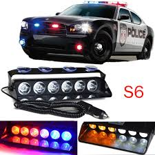 Strobe Lights For Cars Classy Aliexpress Buy 60 LED Windshield Warning Light Car Flashing