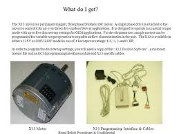 ge ecm motor technology and troubleshooting ppt regal beloit proprietary confidential what do i get the x13 motor is a permanent