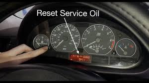 Bmw E46 Oil Inspection Service Light Reset Bmw E46 Service Oil Inspection Light Reset