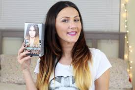 diy ombre hair with loreal