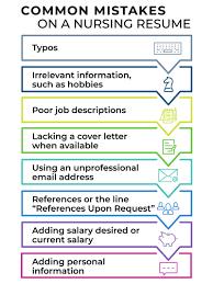 How To Write A Nursing Resume For A 2018 Job Market