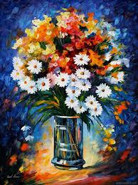 flower paintings oil paintings